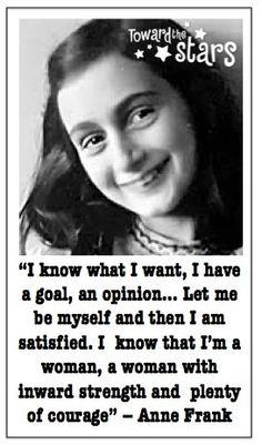 Congratulate, seems anne frank quote logically correctly