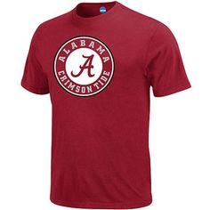 NCAA - Men's Alabama Crimson Tide Short-Sleeve Tee Alabama Shirts, Alabama Crimson Tide, Roll Tide, Short Sleeve Tee, Walmart, Tees, Mens Tops, Short Sleeve Hoodie, T Shirts