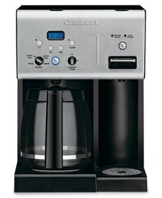 How have we lived so long without a coffee maker? Cuisinart CHW-12 Coffee Maker, 12 Cup Programmable with Hot Water System - Macys