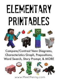 Minecraft Elementary Pack - LAST DAY to get this free without membership