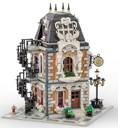 Coming soon # Toy Rooms Coming diagonal fourfaces Lego legomodular Sewing Workshop Lego Modular, Lego Design, Hama Beads Minecraft, Lego Minecraft, Lego Lego, Perler Beads, Lego Hacks, Lego Winter Village, Lego Construction