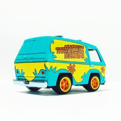 The Mystery Machine  #hwc #hotwheels #toypics #toycrew #diecast #retro #cartoons #scoobydoo #hotwheelspics