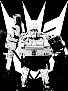 Megatron Other Words For Evil, Transformers Decepticons, Transformers Masterpiece, Cartoon Movies, Comic Art, Comics, Construction, Vehicles, Fictional Characters