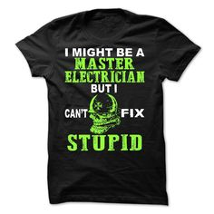 Master Electrician T-Shirts, Hoodies. Get It Now ==> https://www.sunfrog.com/LifeStyle/Master-Electrician.html?id=41382