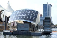 Trash isn't a pretty sight, but Baltimore's new Water Wheel actually makes collecting garbage look cool and fun. Powered by 30 solar panels and the water current, the Water Wheel Trash Inceptor can remove a whopping 50,000 pounds of trash a day--a rate that the Waterfront Partnership of Baltimore hopes will make the harbor swimmable by 2020
