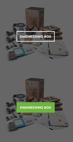 Engineering Box from the James Dyson Foundation. for grades 7-12 (they have an Idea Box for the younger grades).