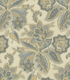 Buy Waverly fabric online by the yard at JOANN. Browse fabric colors, designs and materials from top brands like Waverly. Waverly Bedding, Waverly Fabric, Elegant Home Decor, Home Decor Fabric, Fabric Art, Fabric Shop, Drapery Fabric, Curtains, Joanns Fabric And Crafts