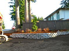 Lake Stevens WA retaining walls. All Seasons Earthworks