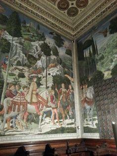 """Zug der heiligen drei Könige"" Benozzo Gozzoli, Palazzo Medici-Riccardi in FIorence, Toscana"