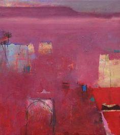 "Saatchi Art Artist Gerry Dudgeon; Painting, ""High Atlas Plateau   57 x 51 cms (sold)"" #art"