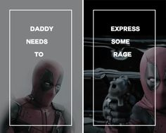 [ Daddy needs to express some rage ] Comic Book Characters, Comic Books, Maximum Effort, Dead Pool, Wade Wilson, Deathstroke, Geek Out, Character Aesthetic, Wolverine
