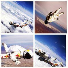 I.N.C.R.E.D.I.B.L.E. Red Bull Stratos. Felix.