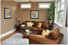colors that coordinate with brown | How To Add Warmth To A Room - Solutions for Selling Part IV