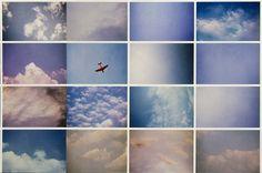 Luigi Ghirri, Infinito L'artista scatta 365 foto al cielo nell'arco di un anno. Poi lo inserisce in una struttura che non segue la cronologia delle fotografie ma creando una nuova narrazione.