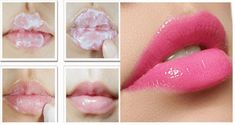 Step 1 – First remove dark layer from your lips by using this homemade scrub