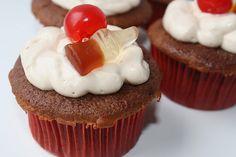 Coca-Cola Cupcakes #cupcakes