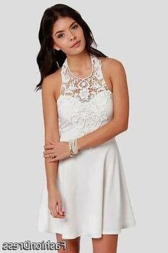 Nice white dresses for juniors confirmation 2017-2018