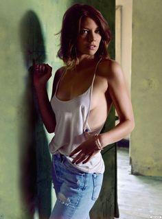Lauren Cohan    Maggie  The Walking Dead   sexy