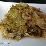 Cavolo verza in agrodolce (ricetta con la pentola a pressione)