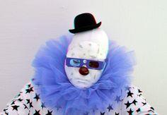 https://flic.kr/p/ErFmEZ | Clown UGO RONINONE Boijmans anaglyph | anaglyph stereo red/cyan