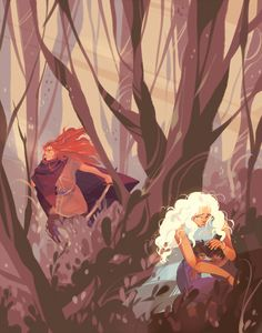 Nellas finds Eluréd and Elurín - I wish this happened...