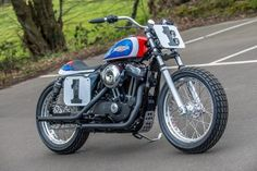 Mert Lawill Replica Harley-Davidson Sportster by Shaw Speed and Custom #motorcycles #flattracker #motos | caferacerpasion.com