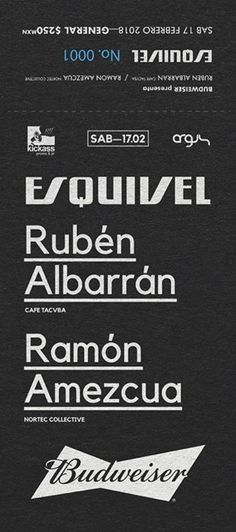 Ya están a la venta los ticketes para el after de Café Tacvba en Tijuana   Esquivel / SAB 17 Feb / Rubén Albarrán  Ramón Amezcua  #hayqueir