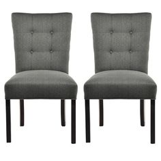 La Mode 4-button Stitched Fanback Candice Dining Chair (Set of 2) - Overstock™ Shopping - Great Deals on Sole Designs Dining Chairs