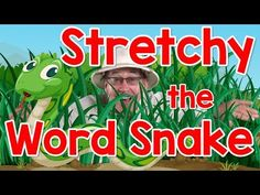 Stretchy the word snake shows how to segment and blend words for reading fluency and phonemic awareness. Stretchy stretches out each letter sound and then bl. Phonics Videos, Phonics Song, Teaching Phonics, Phonics Activities, Kids Phonics, Phonics Lessons, Jolly Phonics, Interactive Activities, Phonemic Awareness Kindergarten