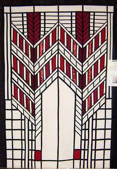 Top 7 Art Deco Quilts: Amazing Inspiration | Red black, Art deco ... : art deco quilt - Adamdwight.com