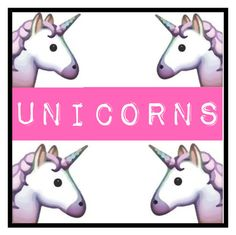 """UNICORNS"" by mary-mara on Polyvore"
