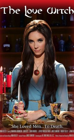 Directed by Anna Biller.  With Elle Evans, Samantha Robinson, Jeffrey Vincent Parise, Dani Lennon. A modern-day witch uses spells and magic to get men to fall in love with her, in a tribute to 1960s pulp novels and Technicolor melodramas.