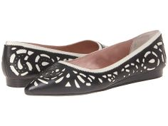 DKNY Felice - Laser Cut Pointy Ballerina 15mm (Without Bow)