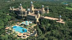 The Palace of the Lost City at Sun City, South Africa: the resort from Blended. Dream Vacations, Vacation Spots, Sun City South Africa, Cool Places To Visit, Places To Travel, Travel Destinations, South African Holidays, Holiday Resort, Lost City