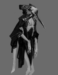 -- Share via Artstation iOS App, Artstation © 2015 Alien Concept, Concept Art, Fantasy Inspiration, Character Inspiration, Dark Fantasy, Fantasy Art, Character Concept, Character Art, Anthony Jones