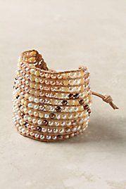 Anthropologie Nacre Streams Bracelet
