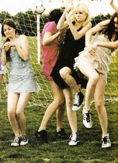 Heavenly Dresses by Juergen Teller for Vogue UK September 2003 #art #photography #jurgenteller