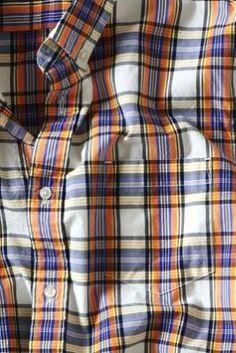 Men's Heritage Plaid Poplin Shirt from Lands' End Canvas