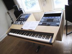 Music Studio Desk | Christopher Wilson | Seattle