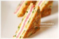 「「おかず」クロックムッシュみたいな卵焼き」ジュンジュン | お菓子・パンのレシピや作り方【corecle*コレクル】