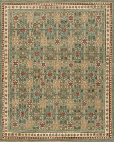 Caspian - Tavi - Samad - Hand Made Carpets Green Rugs, Transitional Rugs, Home Rugs, Hand Spinning, Carpets, Traditional, Antiques, Farmhouse Rugs, Antiquities