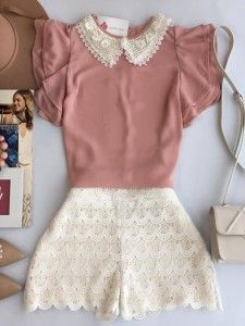 juz love the color combination Girly Outfits, Short Outfits, Outfits For Teens, Pretty Outfits, Vintage Outfits, Summer Outfits, Cute Outfits, Cute Dresses, Casual Dresses