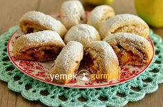 Yumurtasız Sütsüz Elmalı Kurabiye Tarifi - http://www.yemekgurmesi.net/yumurtasiz-sutsuz-elmali-kurabiye-tarifi.html