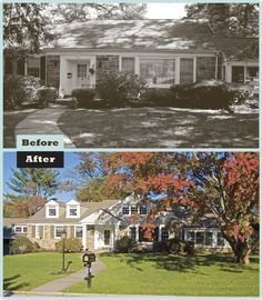 A second floor gable addition boosts the home's curb appeal and transformed an unfinished attic into livable space.