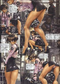 W TAILS CAT 1 ~ Shirow Masamune