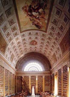 Biblioteca Palatina di Parma, Italy