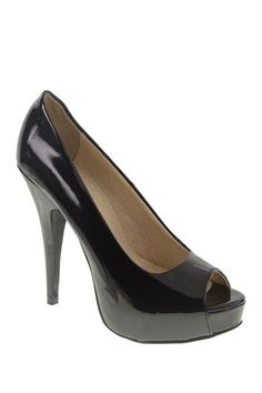 Chinese Laundry Hotness Peep Toe Pump by Assorted on @HauteLook