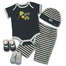 Baby Essentials 5 Piece Layette Set - Handsome Like Dad