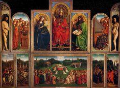 Thé au Jasmin: L'Agneau mystique - van Eyck 1432