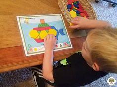 Transportation Pattern Block Mats - Pre-K Printable Fun Outer Space Activities, Transportation Preschool Activities, Transportation Theme, Build Math, Ocean Themes, Dramatic Play, Math Skills, Teacher Hacks, Pattern Blocks
